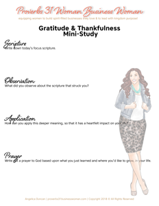 Gratitude & Thanks Set (Red Head)