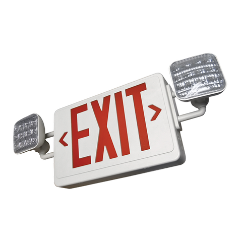 SCLD2RW LED Dual Head Exit/Emergency Light