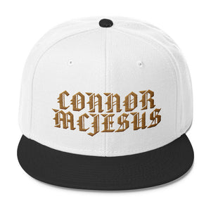 Gold Scripture - Snapback (Black/White)