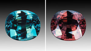 Photo of Alexandrite courtesy of GIA