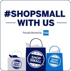 SHOP WITH US AND SUPPORT THE SHOP SMALL<sup>®</sup> MOVEMENT.