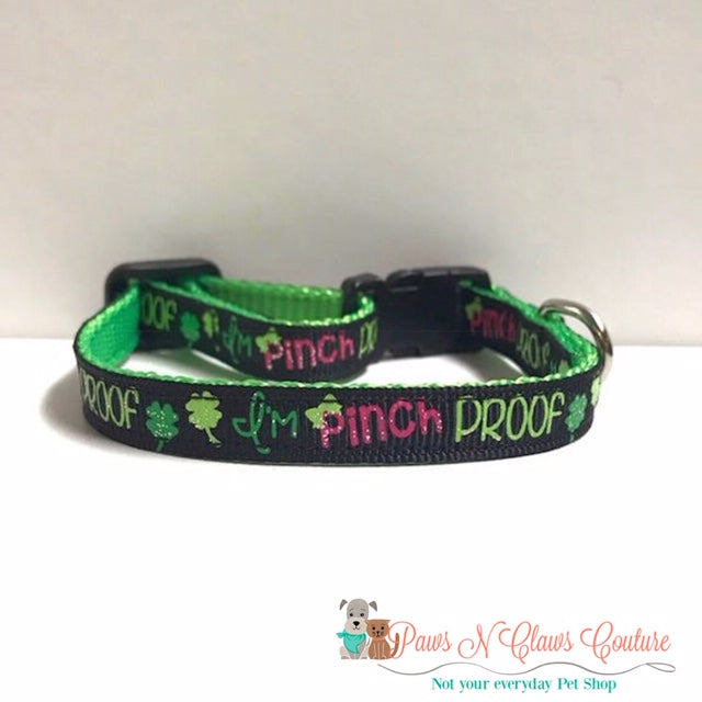 "3/8"" Im Pinch Proof Cat or Small Dog Collar"