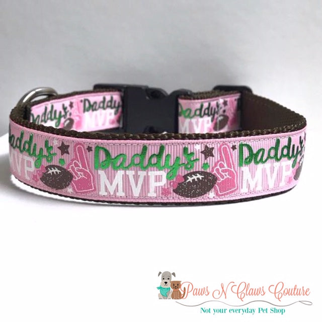 "1"" Daddys MVP Dog Collar"