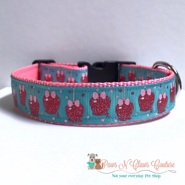 "1"" Candied Apples Dog Collar - Paws N Claws Couture"