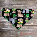 St Patty Pups Bandana - Paws N Claws Couture