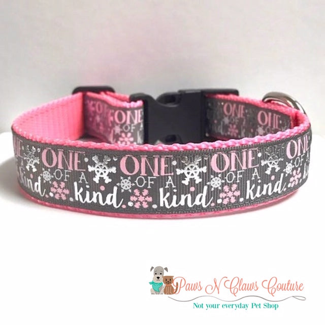 "1"" One of a Kind Dog Collar"