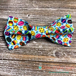 Glitter Eggs Bow Tie - Paws N Claws Couture