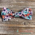 Spring Flowers Bow Tie