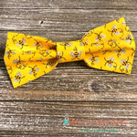 Glitter wing Bee Bow Tie - Paws N Claws Couture
