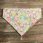 Garden Flowers Bandana - Paws N Claws Couture