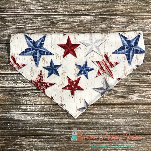 Stars and Stripes Bandana - Paws N Claws Couture