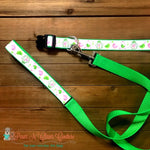 "1"" Songbirds Dog Collar, Leash Available"