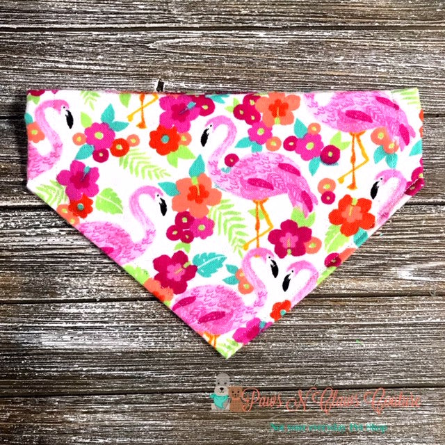 Tropical Flamingos Bandana