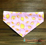 Lemons on Pink Bandana