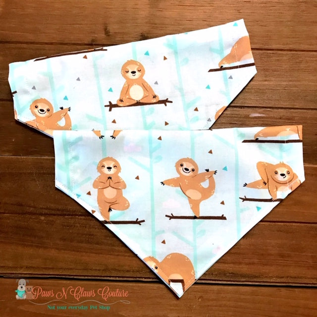 Yoga Sloth Bandana