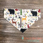 Summer Woodland Animals Bandana - Paws N Claws Couture