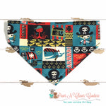 Sea Pirates Bandana - Paws N Claws Couture