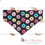 Sweet Donuts Bandana - Paws N Claws Couture