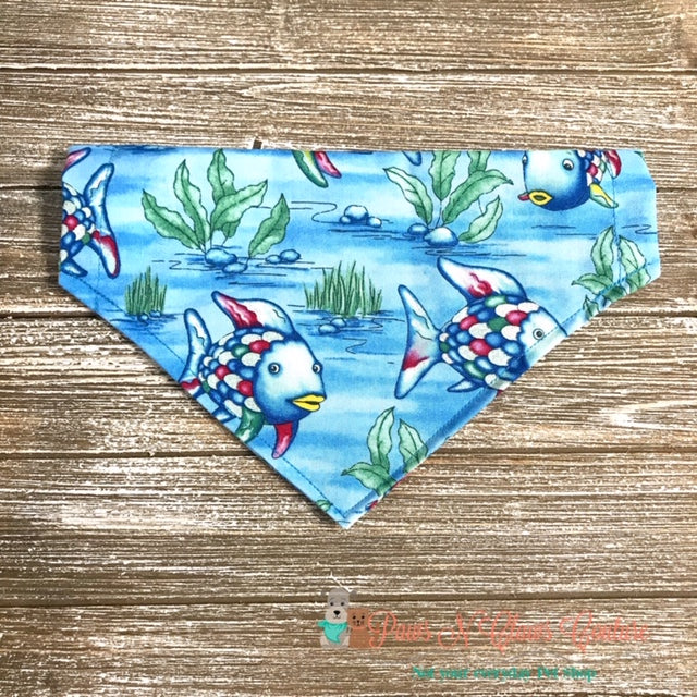 Tropical Fish Bandana - Paws N Claws Couture