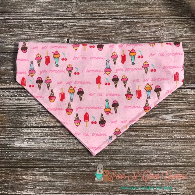 Scream for Ice cream Bandana