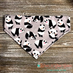 Pandas Bandana - Paws N Claws Couture