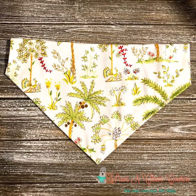 Palms Bandana - Paws N Claws Couture