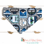 Camping Badges Bandana