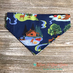 Camping Bubbles Bandana - Paws N Claws Couture