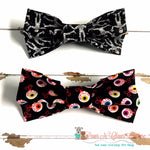 Spooky Eyes or Mummy Bow Ties - Paws N Claws Couture