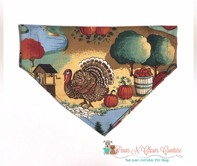 Fall Country Time Bandana - Paws N Claws Couture