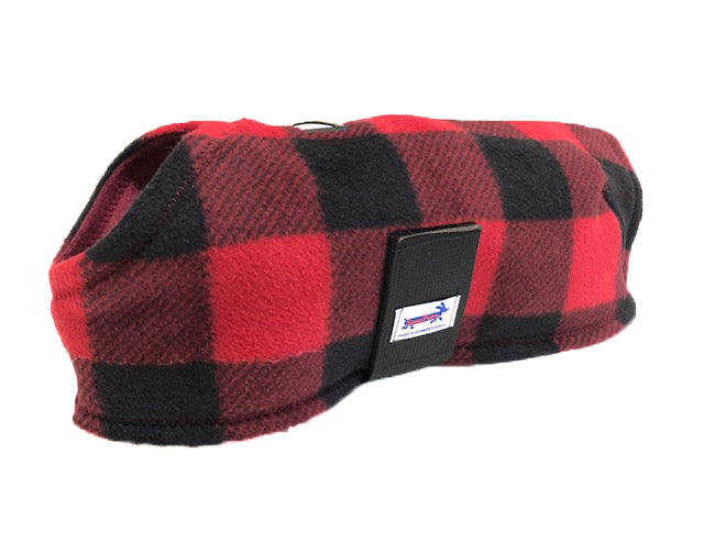 Red & Black Buffalo Plaid - Paws N Claws Couture