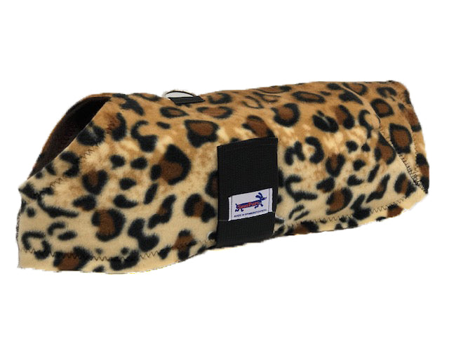 Leopard Fleece Coat