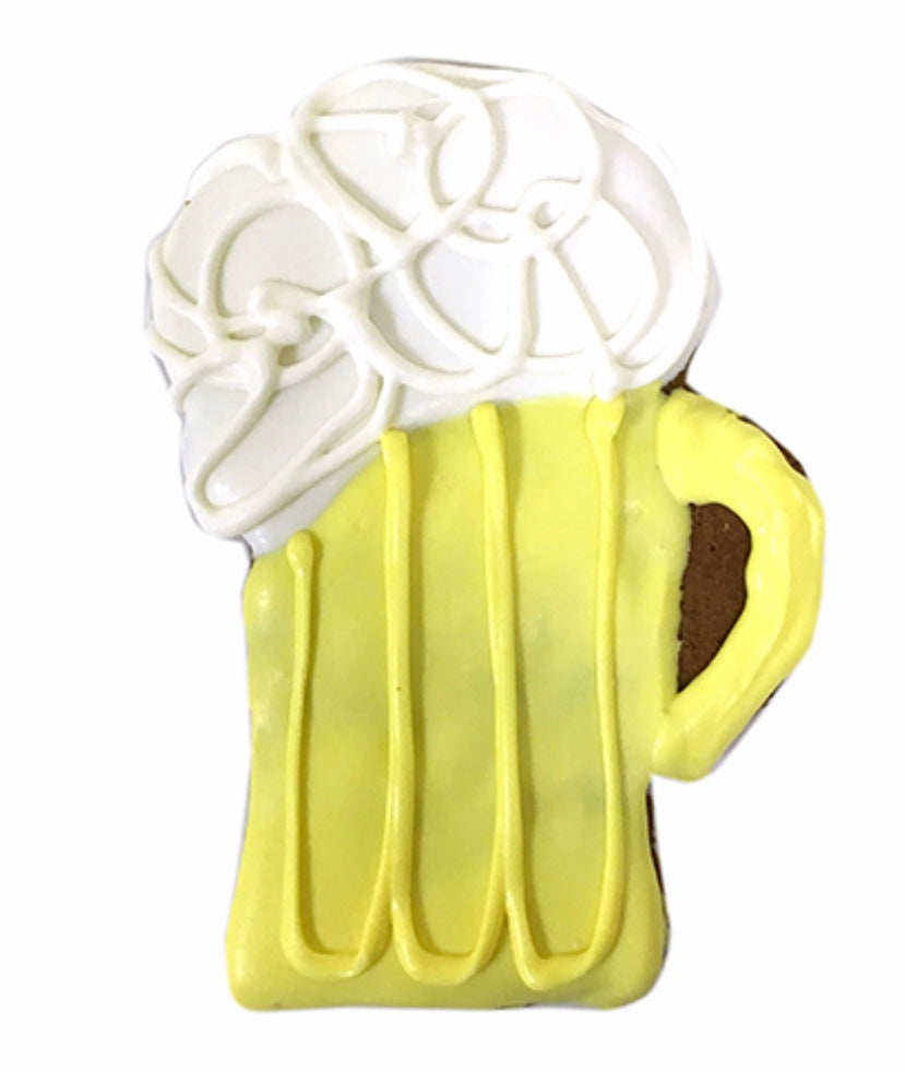 Yellow Beer Mug - Paws N Claws Couture