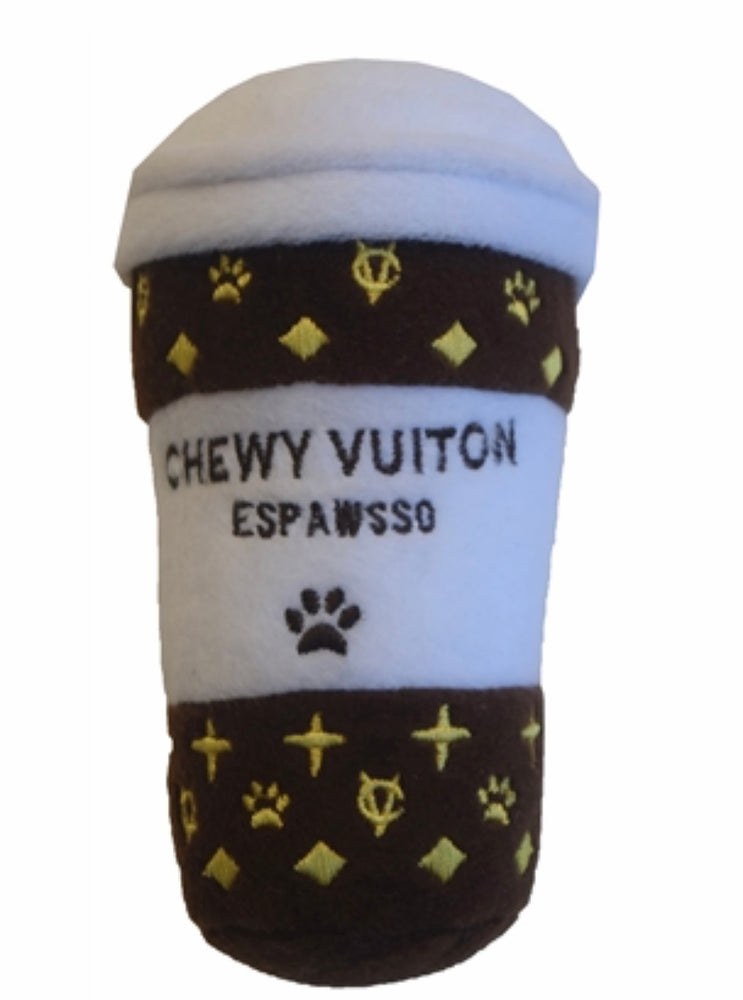 "Chewy Vuiton ""Espawsso"" - Paws N Claws Couture"