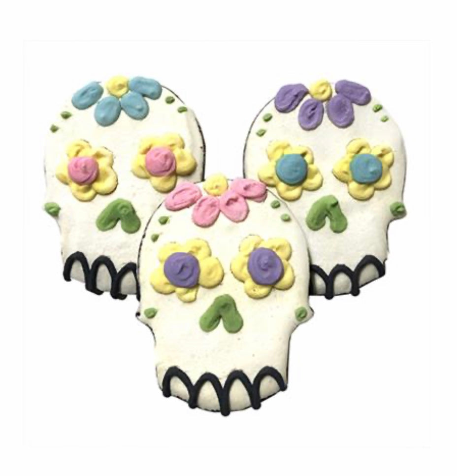 Sugar Skull Dog Cookie - Paws N Claws Couture