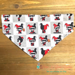 Harley Quinn Inspired Bandana - Paws N Claws Couture