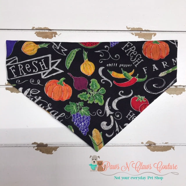 Farm Fresh Bandana - Paws N Claws Couture
