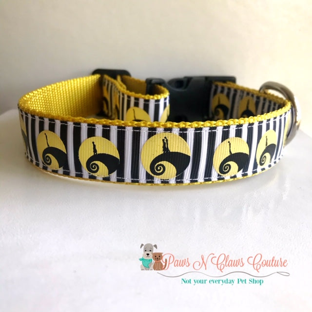 "1"" Jack on the Hill Dog Collar - Paws N Claws Couture"
