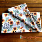 Home Sweet Home Sunflowers Infinity Scarf - Paws N Claws Couture