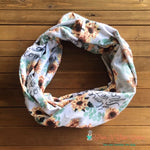 Home Sweet Home Sunflowers Infinity Scarf