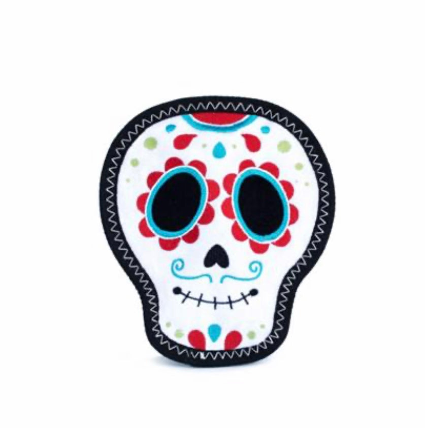 Z-Stitch - Santiago the Sugar Skull - Paws N Claws Couture