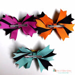 Happy Pumpkins Hair Clip - Paws N Claws Couture