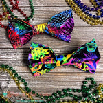 Mardi Gras Bow Ties - Paws N Claws Couture