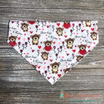 Bear Hugs & Kisses Bandana