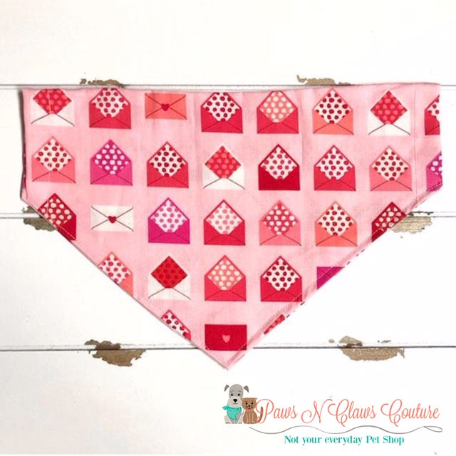 Love Letters Bandana - Paws N Claws Couture