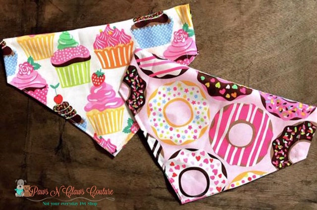 Reversible Sweet tooth Bandana