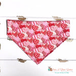 Cookie Hearts Bandana - Paws N Claws Couture