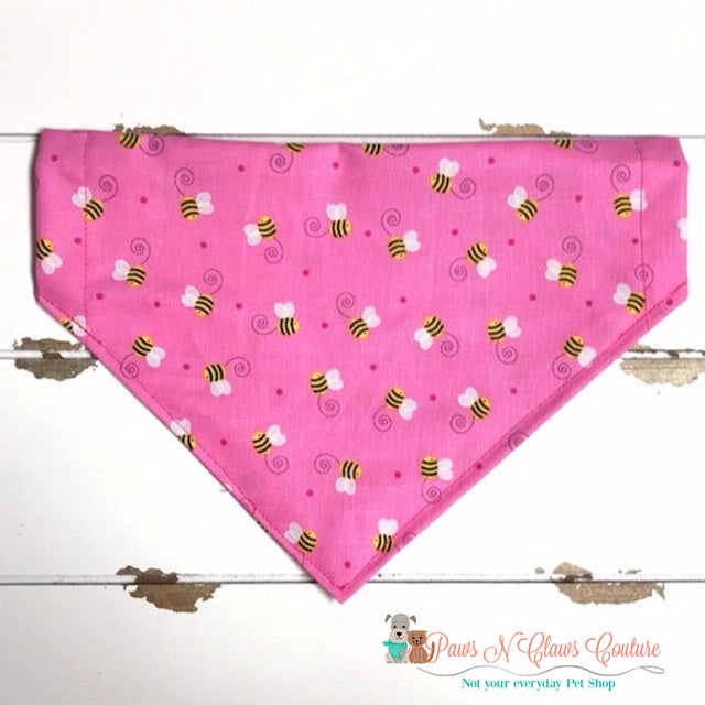 Bee in Love Bandana - Paws N Claws Couture