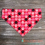Paws & Hearts Bandana - Paws N Claws Couture