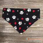 Hearts, Paws & Dots Bandana - Paws N Claws Couture